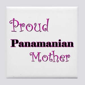 Proud Panamanian Mother Tile Coaster
