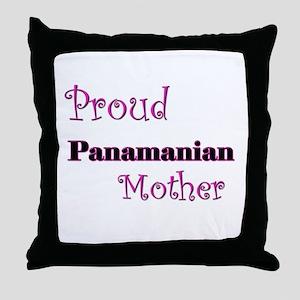 Proud Panamanian Mother Throw Pillow
