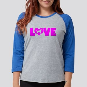 LOVE GOLDEN RETRIEVER Long Sleeve T-Shirt