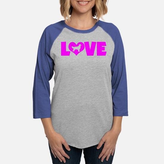 LOVE GOLDEN RETRIEVER Long Sleeve T-Shirt