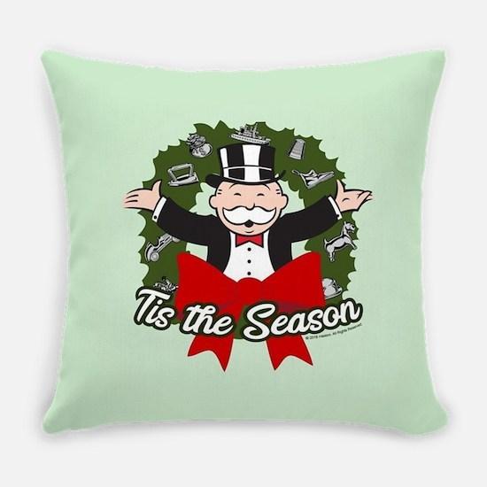Monopoly - Tis The Season Everyday Pillow