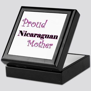 Proud Nicaraguan Mother Keepsake Box