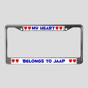 My Heart: Jaap (#005) License Plate Frame