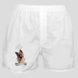 German Shepherd Best Friend Boxer Shorts