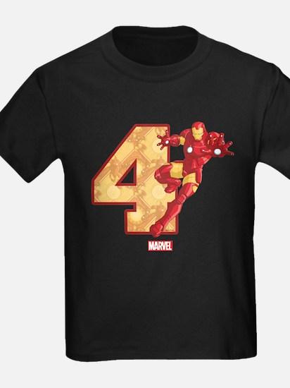 Iron Man Birthday Age 4 T