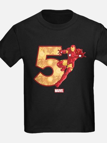 Iron Man Birthday Age 5 T
