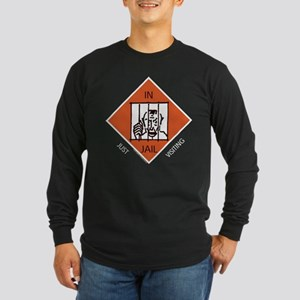 Monopoly - In Jail Long Sleeve Dark T-Shirt
