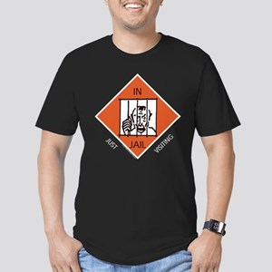 Monopoly - In Jail Men's Fitted T-Shirt (dark)
