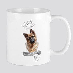 German Shepherd Best Friend Mugs