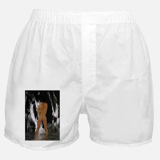 Moon Gazing Boxer Shorts