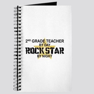 2nd Grade Teacher Rock Star Journal