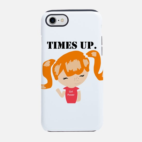 Cute Support fight like girl iPhone 8/7 Tough Case
