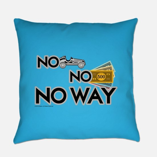 Monopoly - NO WAY Everyday Pillow