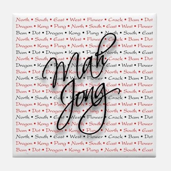Mah Jong Tile Coaster