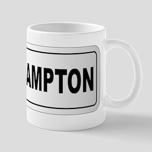 Southampton City Nameplate Mugs