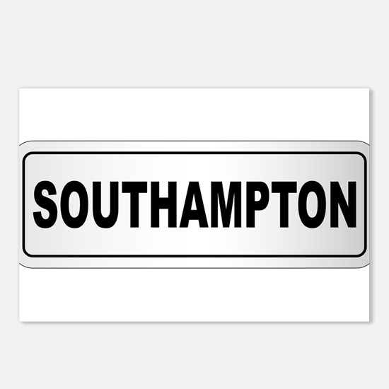 Southampton City Nameplat Postcards (Package of 8)