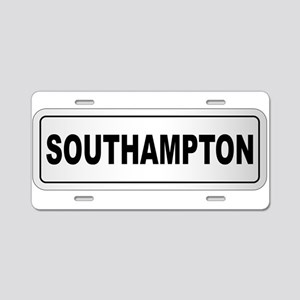 Southampton City Nameplate Aluminum License Plate