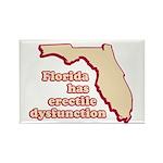 Florida has E.D. Rectangle Magnet (100 pack)