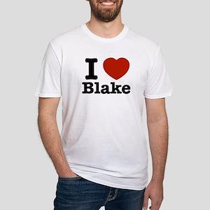 I love Blake Fitted T-Shirt