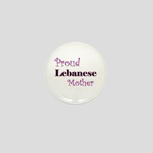 Proud Lebanese Mother Mini Button