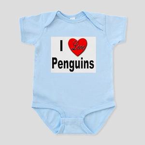 I Love Penguins for Penguin Lovers Infant Creeper