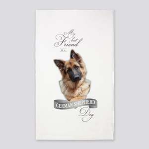 German Shepherd Best Friend Area Rug