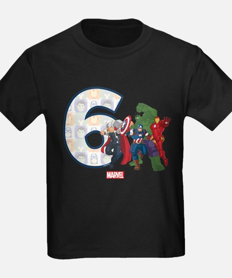 The Avengers Birthday Age 6 T