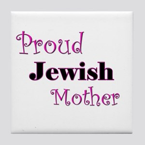Proud Jewish Mother Tile Coaster
