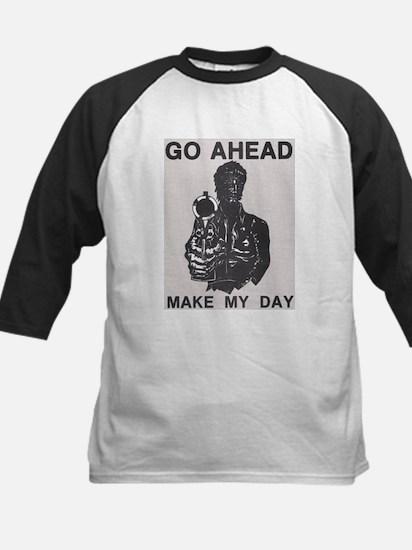 Make My Day Kids Baseball Jersey