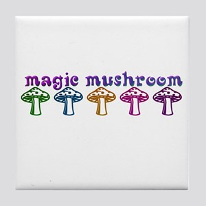 Magic Mushroom Tile Coaster