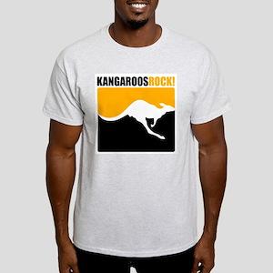 Kangaroos Rock! Light T-Shirt