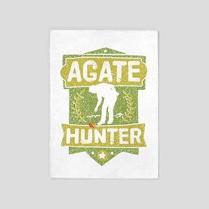 Agate Hunter 5'x7'Area Rug