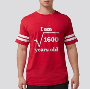 40th Birthday Square Root T-Shirt