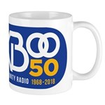 KBOO 50th Logo Mugs
