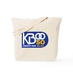 KBOO 50th Logo Tote Bag