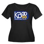 KBOO 50th Logo Plus Size T-Shirt