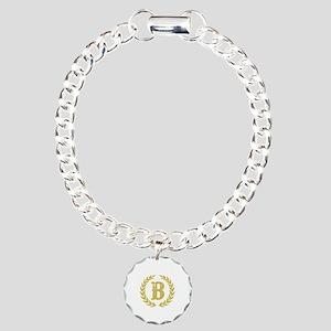 Mustard Yellow Monogram: Charm Bracelet, One Charm