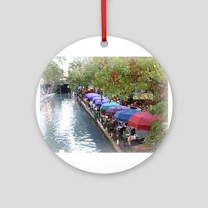 Riverwalk Ornament (Round)