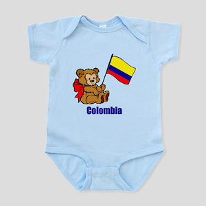 Colombia Teddy Bear Infant Bodysuit