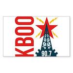 KBOO Logo Sticker