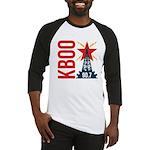 KBOO Logo Baseball Jersey