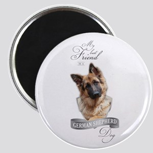 German Shepherd Best Friend Magnets