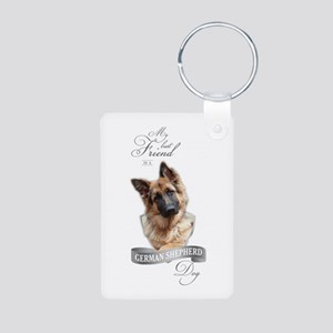 German Shepherd Best Friend Keychains