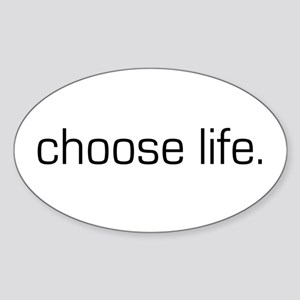 Choose Life Rectangle Sticker