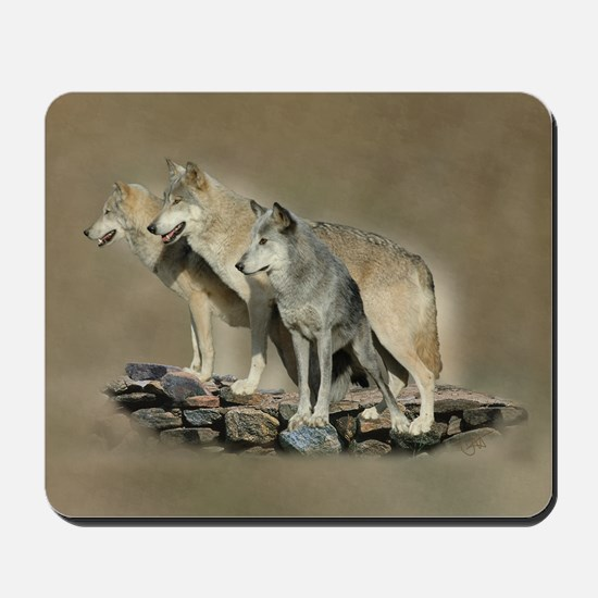 Keepers of The Blue Stone - Mousepad