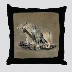 Keepers of The Blue Stone - Throw Pillow