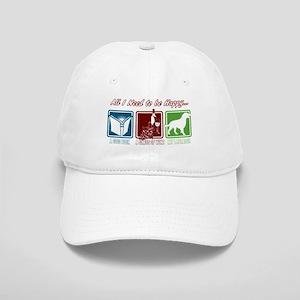 Book, Wine, Labrador Cap