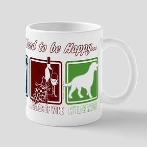 Book, Wine, Labrador 11 oz Ceramic Mug