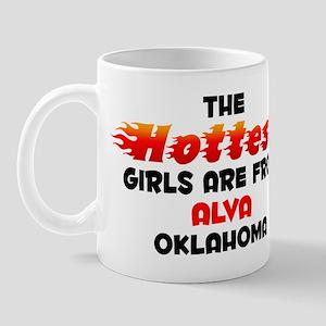 Hot Girls: Alva, OK Mug