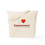 I Love Semarang Tote Bag